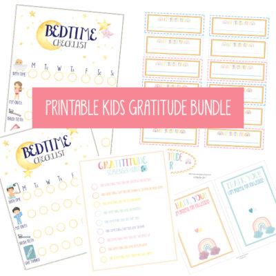 Kids Gratitude Bundle on A Touch of LA