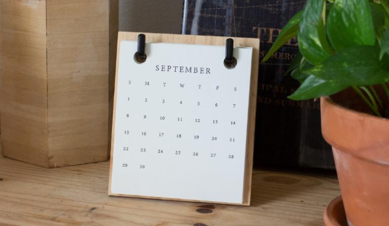 Gratitude Journal Prompts for September