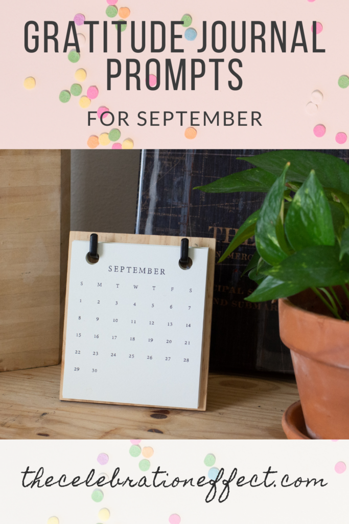 Gratitude Prompts for September