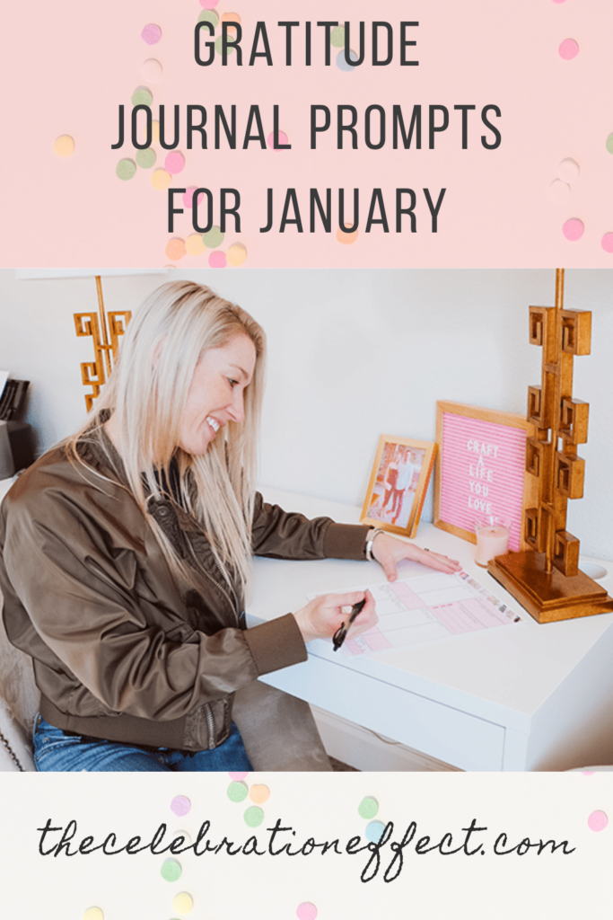 gratitude journal prompts for january