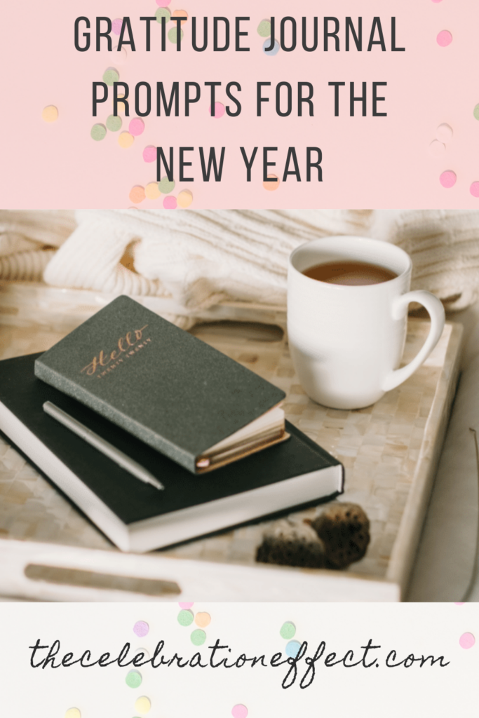 gratitude journal prompts for the new year