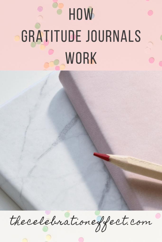 how gratitude journals work
