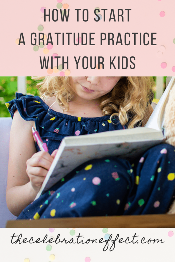 how to start a gratitude practice with your kids