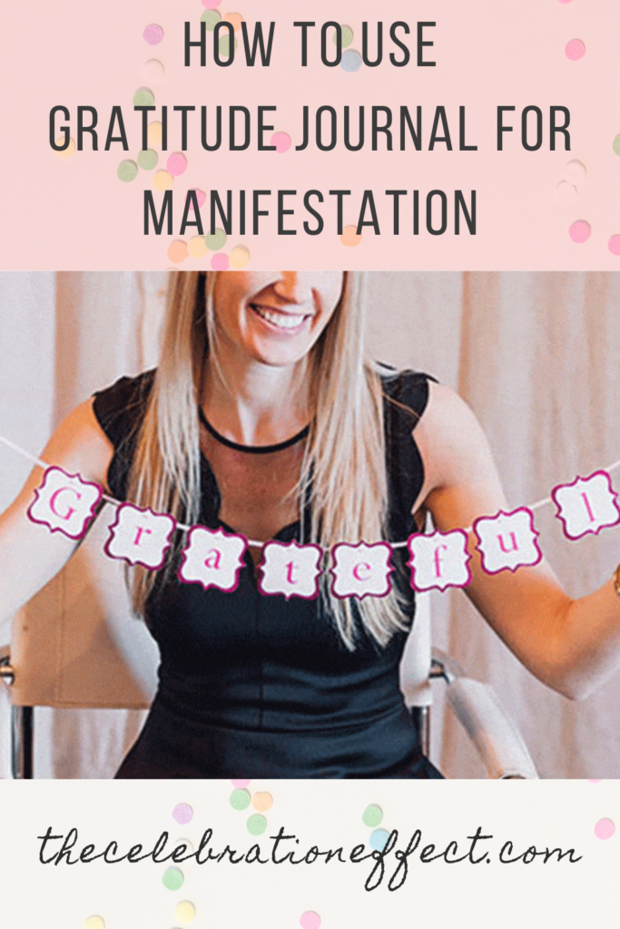 how to use gratitude journal for manifestation